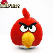 iPhone/iTouch 火爆游戏 Angry Birds 愤怒的小鸟 毛绒公仔 单款